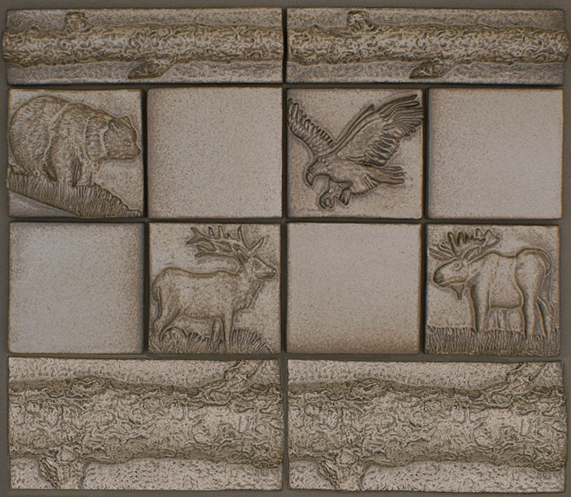 Ceramic Animal Tile