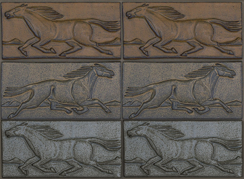 Mustang Horse Tiles
