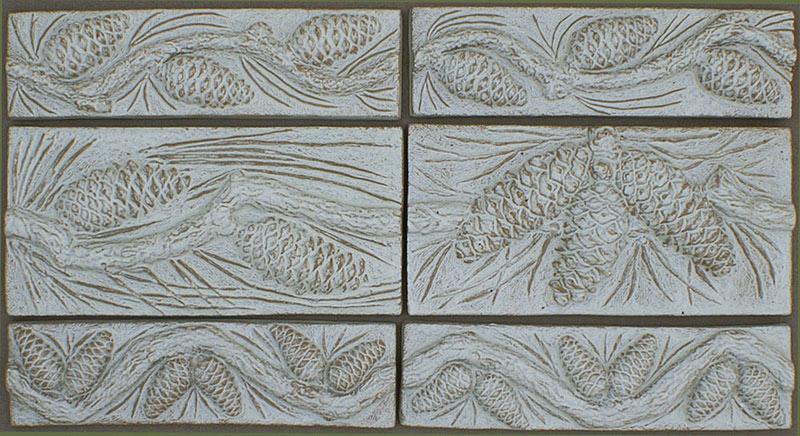 Pine Cone Tiles
